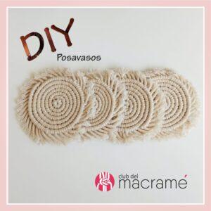 DIY Hazlo tu misma - Posavasos redondos