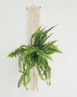 F r a n – Colgador de plantas en Macramé