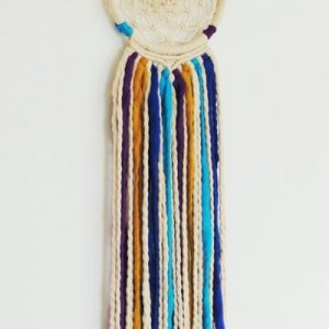 Dream Catcher desing boho macrame - El Club del Macramé