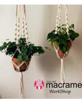 Taller de Colgador de Plantas en macramé – Plant hanger