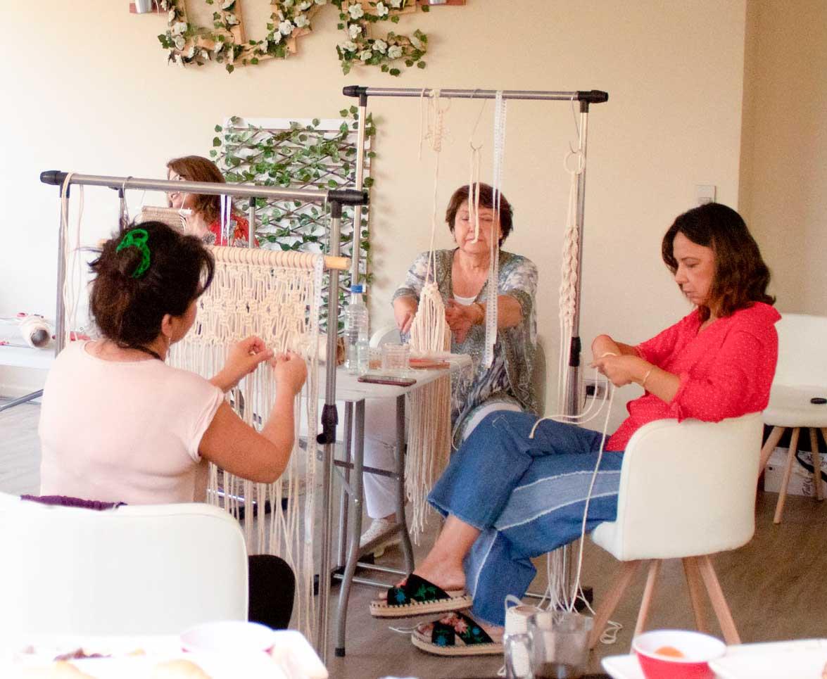 Curso de macrame en Chile