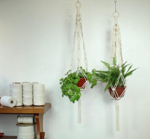 Kit DIY para Colgador de plantas. Club del Macramé